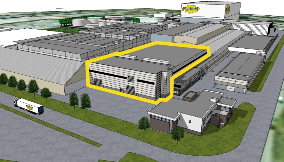 Investement new production line Mydibel