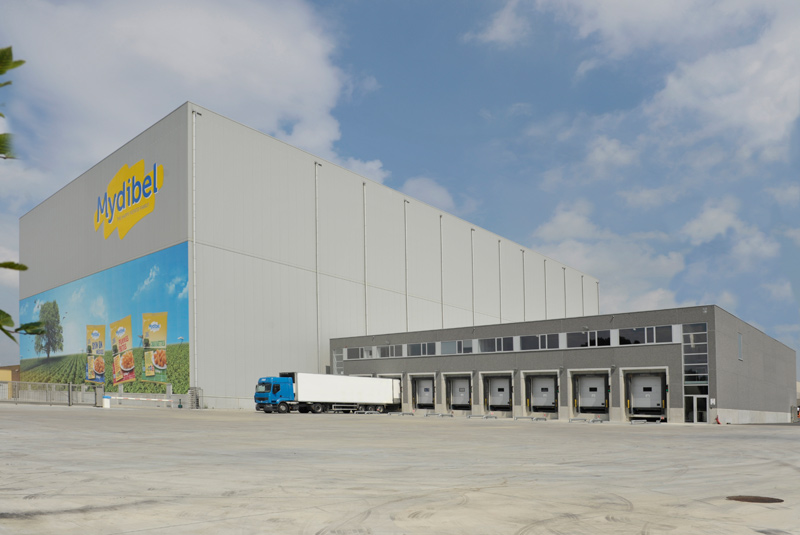 Fully automated warehouse Mydibel